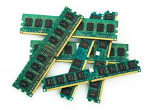 Memory modules Royalty Free Stock Photos