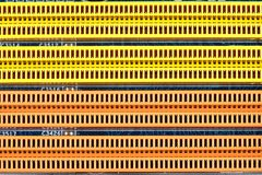 Memory slots, a background or texture Stock Photo