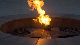 Memory of soldiers May 9 Victory day. Eternal flame, eternal fire, eternal light. stock photography