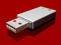 Memory stick Royalty Free Stock Images