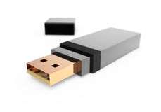 Memory stick Stock Image