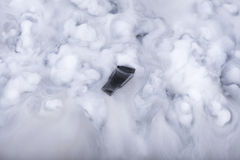 Memory stick in the clouds Stock Photos