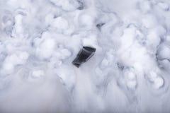 Memory Stick en las nubes Fotos de archivo
