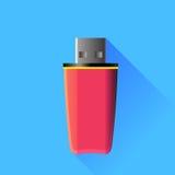 Memory Stick rosado Fotos de archivo libres de regalías