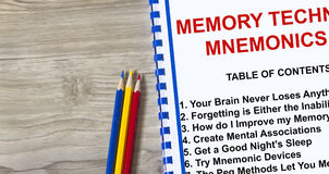 Memory technique improvement Stock Photos