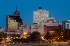Memphia skyline Royalty Free Stock Photo
