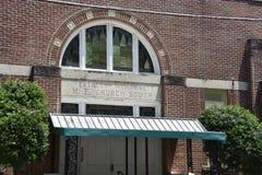 Memphis Łączy Lokalizuje w Darującym budynku, Memphis, TN zdjęcie royalty free