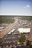 Memphis Aerial Arkivfoto