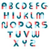 Memphis Alphabet Constructor Set Photos stock