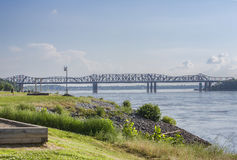 Memphis-Arkansas Bridge Stock Images