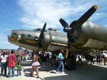 Memphis Belle B17 Stock Photography
