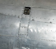 Memphis Belle Bullet Hole Repair Patch Royalty Free Stock Photo