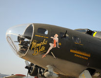 Memphis Belle Flying Fortress bomber Stock Images