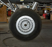 Memphis Belle Landing Wheel Royalty-vrije Stock Fotografie