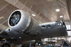 Free Memphis Belle Left Radial Engine & Partial Wing Stock Photos - 81108883