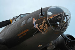 The Memphis Belle Royalty Free Stock Photo