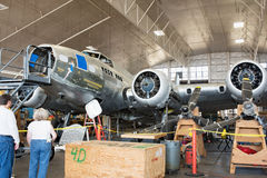 Memphis Belle Restoration Tour Stock Photo