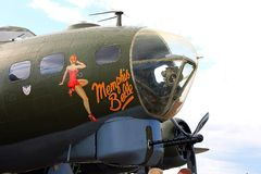 Memphis Belle Royalty Free Stock Image