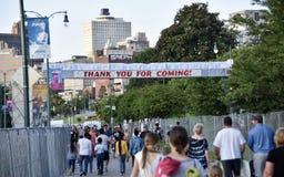 Memphis Bicentennial Event Celebrants Memphis TN royaltyfri foto