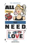 Memphis carde de rétros illustrations bannières dans le style 90s dessin image libre de droits