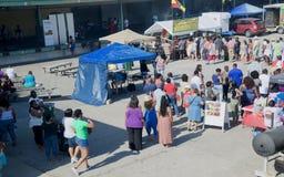 2016 Memphis Caribbean Jerk Festival, 2016 Memphis Tennessee Royalty Free Stock Photo