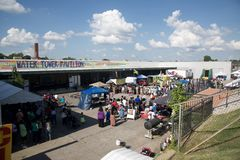 The Memphis Caribbean Jerk Festival, 2016 Memphis Tennessee Royalty Free Stock Image