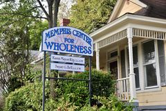Memphis Centers for Wholeness. We provide non-medical in home senior care. Services include but not limited to bathing and hygiene, light housekeeping royalty free stock image