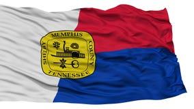 Memphis City Flag d'isolement, Etats-Unis d'Amérique Photographie stock