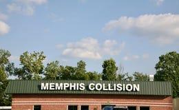 Memphis Collision Center images libres de droits