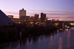 Memphis da baixa, Tennessee, EUA fotografia de stock
