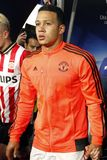 Memphis Depay Manchester Unied Stock Images