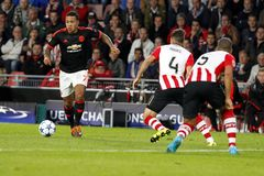 Memphis Depay Manchester Unied Stock Photography