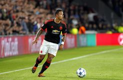 Memphis Depay Manchester Unied Royalty Free Stock Image