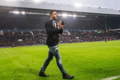 Memphis Depay says goodbye to PSV fans Stock Image