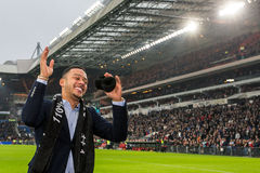 Memphis Depay says goodbye to PSV fans Royalty Free Stock Photo