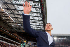 Memphis Depay says goodbye to PSV fans Stock Photography