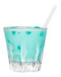Memphis Drink blu Fotografia Stock Libera da Diritti