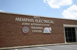 Memphis Electrical Training Center lizenzfreie stockbilder