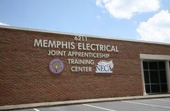 Memphis Elektryczny Stażowy centrum obrazy royalty free