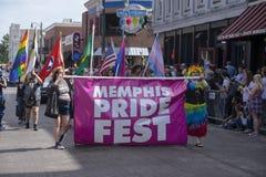 Memphis Gay Pride Parade 2017 Image stock