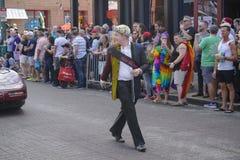 Memphis Gay Pride Parade 2017 Photo libre de droits