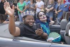 Memphis Gay Pride Parade 2017 Photographie stock libre de droits