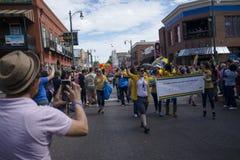 Memphis Gay Pride Parade 2017 Imagenes de archivo