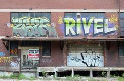 Memphis grafitti Arkivbild