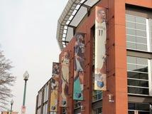 Memphis Grizzlies Starting Line-Up lizenzfreies stockbild