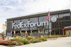 Memphis grizzly FedExForum Obraz Royalty Free