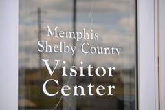 Memphis i Shelby okręgu administracyjnego Tennessee Vistor centrum Zdjęcia Royalty Free