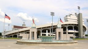 Memphis Liberty Bowl Memorial Stadium, Memphis Tennessee Photographie stock libre de droits