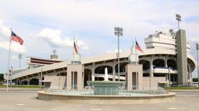 Memphis Liberty Bowl Memorial Stadium, Memphis Tennessee. Memphis Liberty Bowl Memorial Stadium (originally Memphis Memorial Stadium) is a football stadium Royalty Free Stock Photography