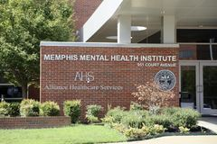 Memphis Mental Health Institute fotografia stock libera da diritti